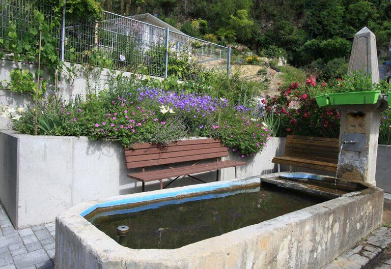 Brunnengarten für Insekten